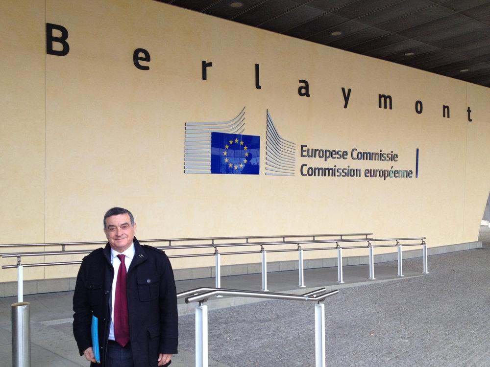 Rencontre avec les institutions européennes