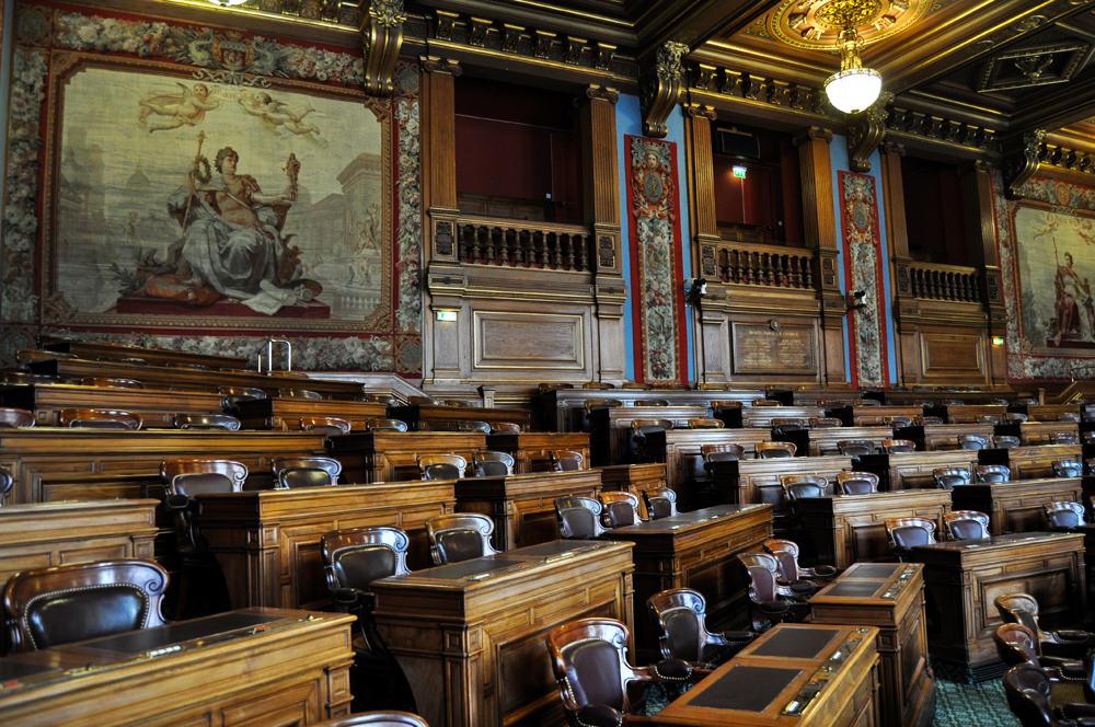Installation de la commission de déontologie du Conseil de Paris