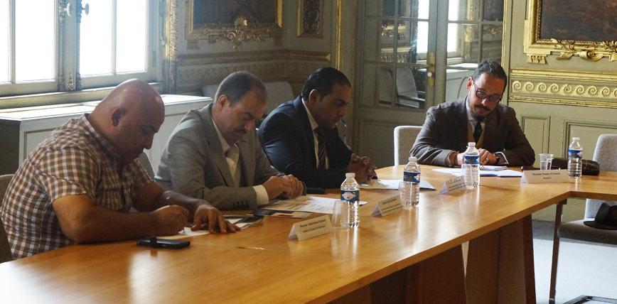 Accueil d'une délégation jordanienne