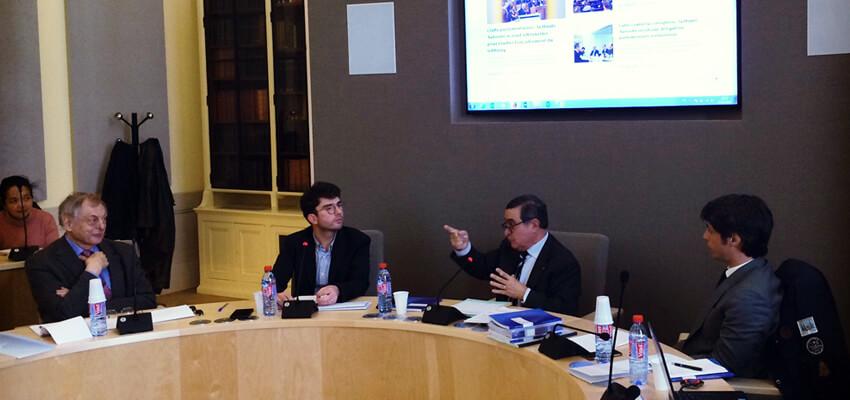 Conférence-débat sur la transparence de la vie publique organisée par l'Université Lyon 3
