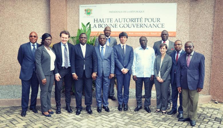 La Haute Autorité renforce sa coopération avec la Haute Autorité pour la bonne gouvernance ivoirienne