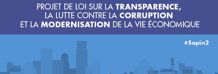 Transparence, lutte contre la corruption & modernisation de la vie économique