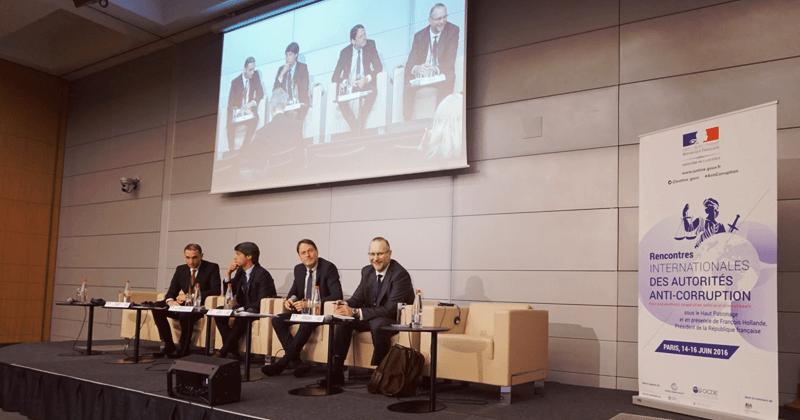 La Haute Autorité aux rencontres internationales des autorités anti-corruption