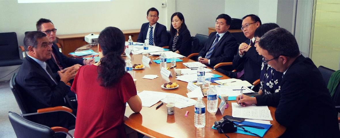 Lutte anticorruption : la Haute Autorité reçoit une délégation de l'Académie chinoise de sciences sociales
