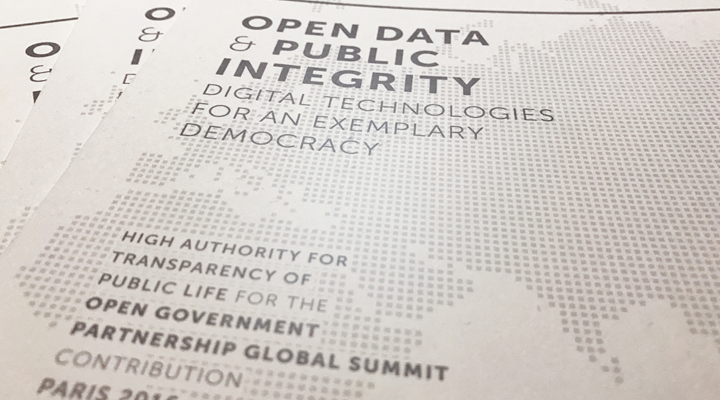 Going beyond open data to address public integrity and fight corruption