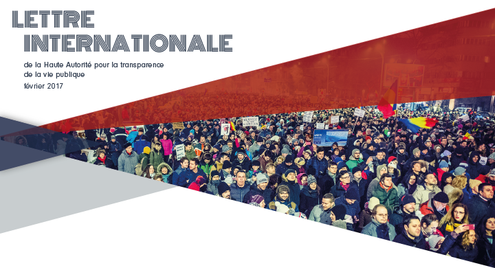 La lettre internationale de la Haute Autorité – Février 2017