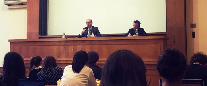 Intervention à l'École de droit de Paris II sur le thème de la transparence