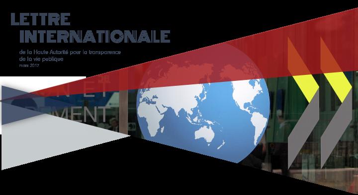 La lettre internationale de la Haute Autorité – Mars 2017