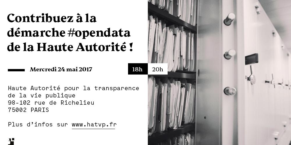 #OpenGov : la Haute Autorité organise un atelier sur la publication des déclarations en open data