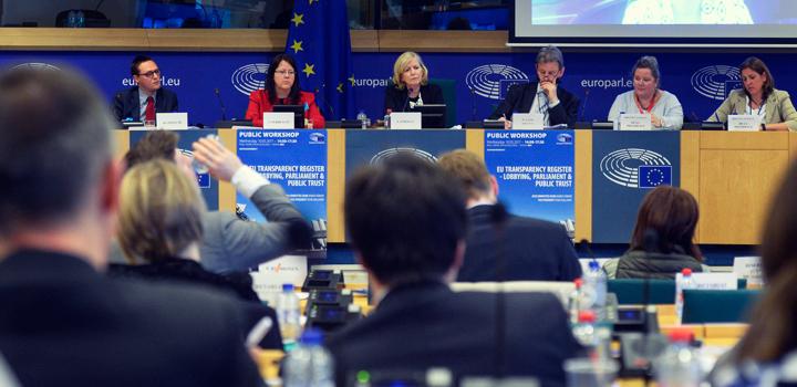 Lobbying : la Haute Autorité participe à un atelier sur le registre de transparence de l'UE