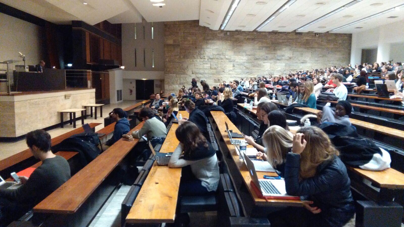 Conférence à l'institut d'études judiciaires d'Assas