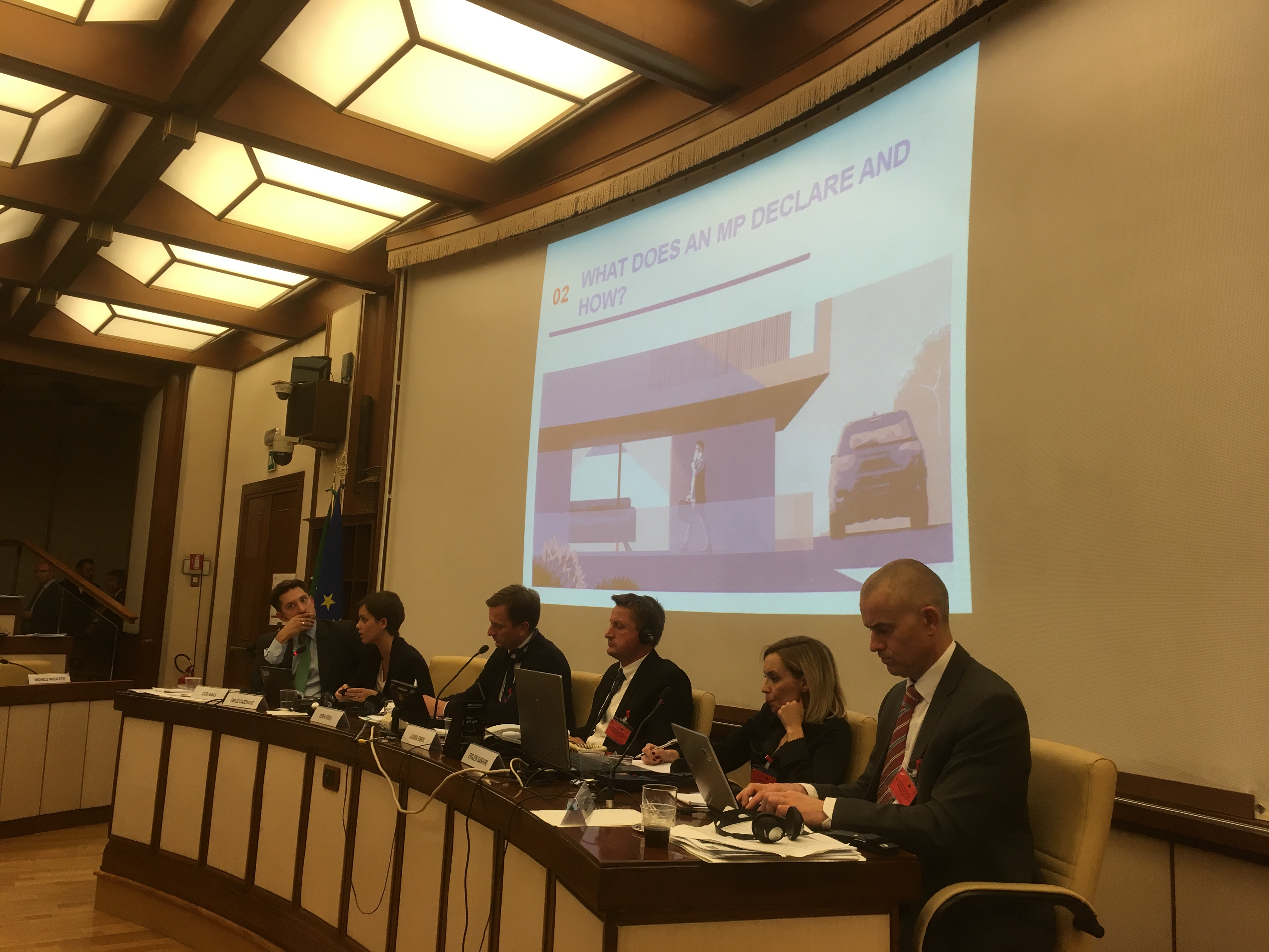 Parliamentary Seminar of the Council of Europe in Rome