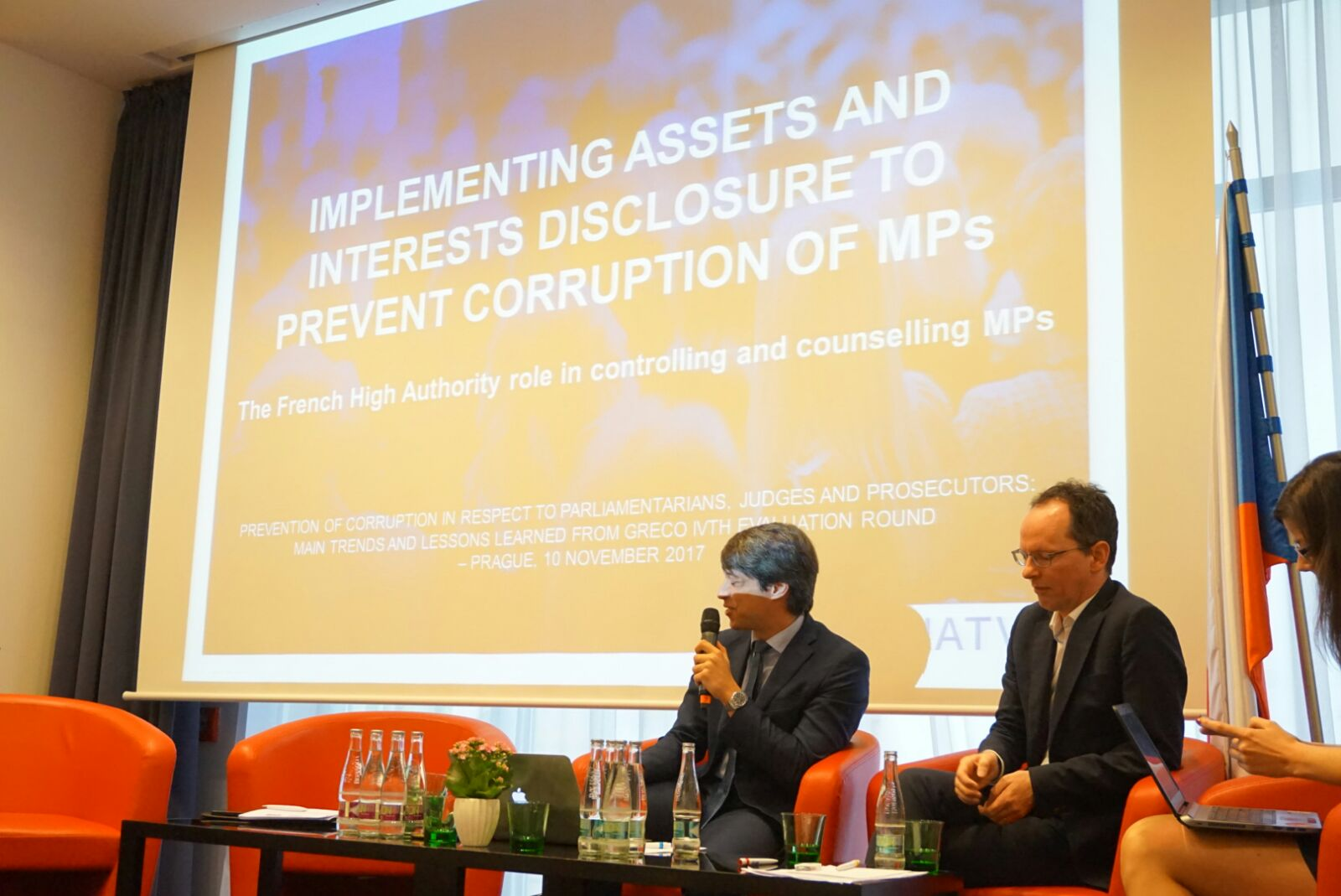 La Haute Autorité, invitée du GRECO à Prague pour une conférence sur la lutte anticorruption
