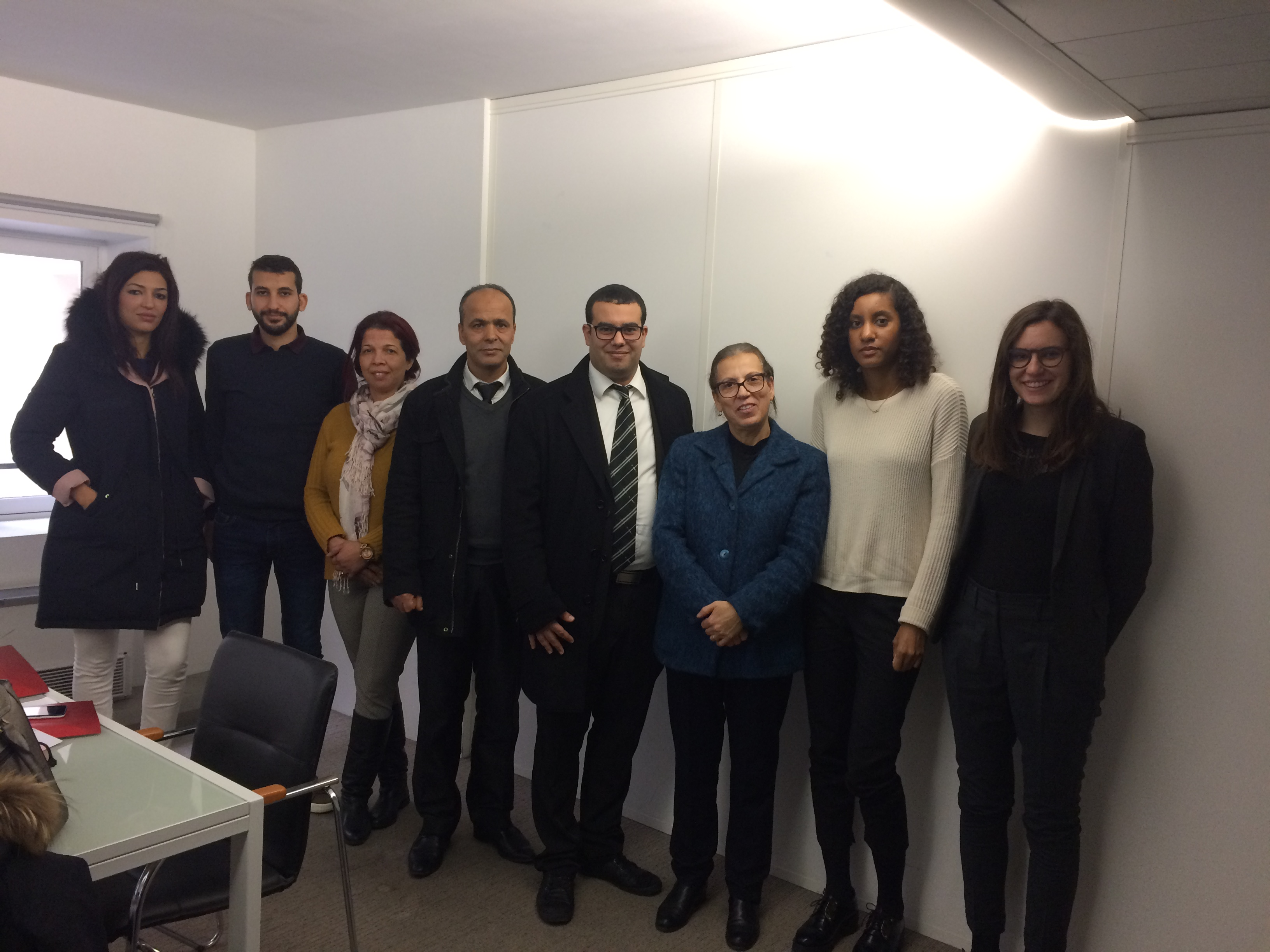 A Tunisian delegation visits the High Authority
