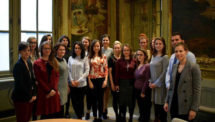 La Haute Autorité reçoit une délégation de 15 élèves fonctionnaires albanais