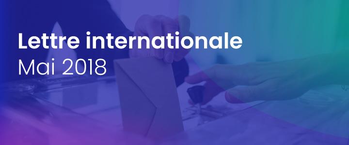 La lettre internationale de la Haute Autorité – Mai 2018