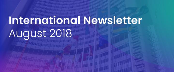 International Newsletter of the HATVP – August 2018