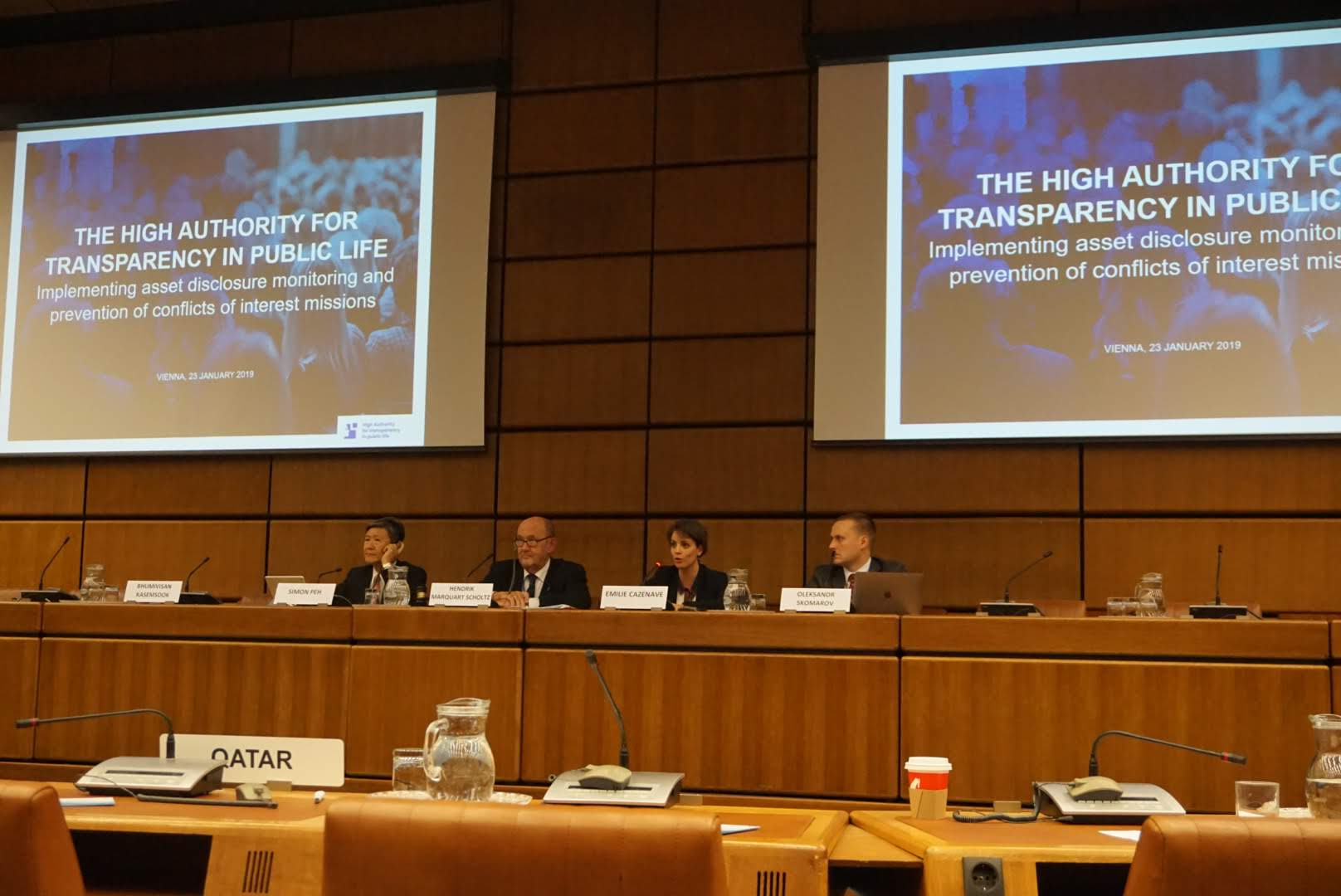 The High Authority participates in the conference of the International association of anticorruption authorities