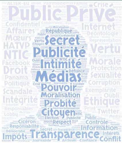 Colloque sur « La vie privée des responsables publics » à Amiens