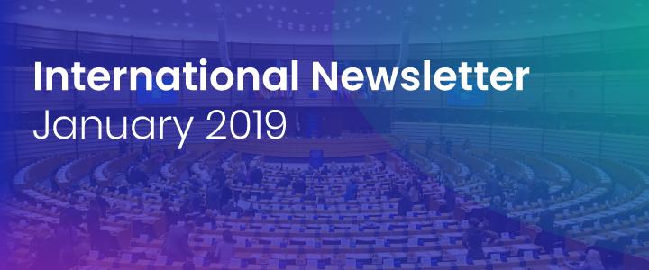 International Newsletter of HATVP – January 2019