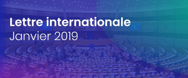 La lettre internationale de la Haute Autorité – Janvier 2019