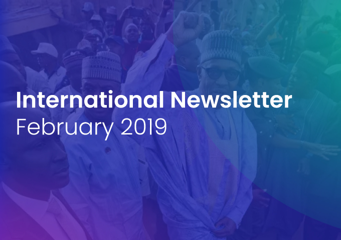 International Newsletter of HATVP – February 2019