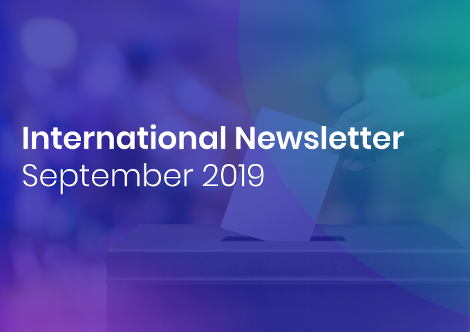 International Newsletter of HATVP – September 2019