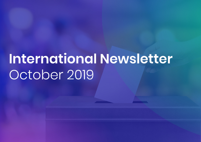 International Newsletter of HATVP – October 2019