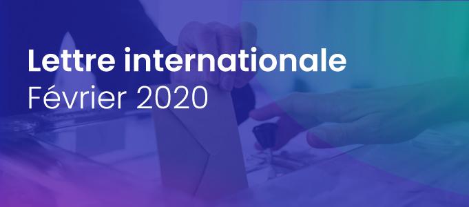 La lettre internationale de la Haute Autorité – Février 2020