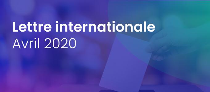 La lettre internationale de la Haute Autorité – Avril 2020