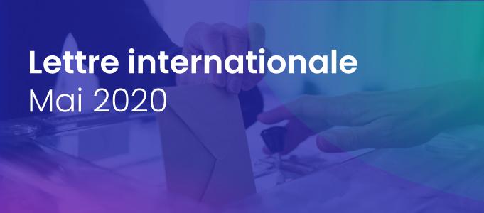 La lettre internationale de la Haute Autorité – Mai 2020
