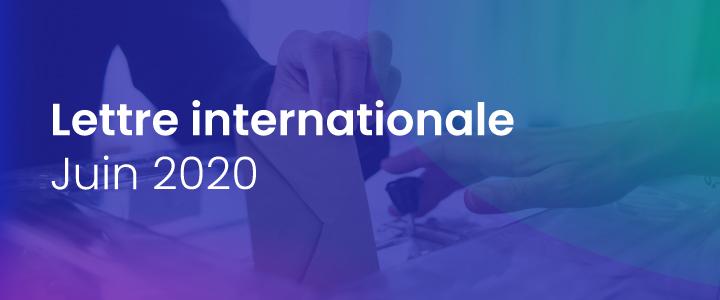 La lettre internationale de la Haute Autorité – Juin 2020