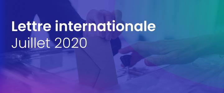 La lettre internationale de la Haute Autorité – Juillet 2020