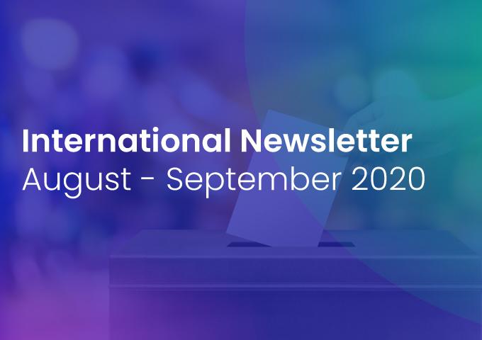 International Newsletter of HATVP – August-September 2020