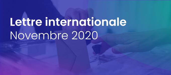 La lettre internationale de la Haute Autorité – Novembre 2020