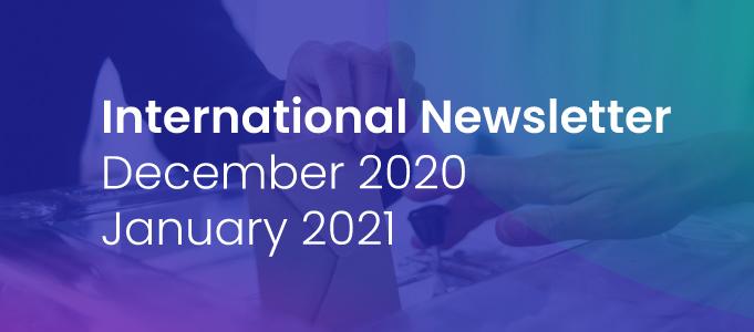 International Newsletter of HATVP – December 2020-January 2021