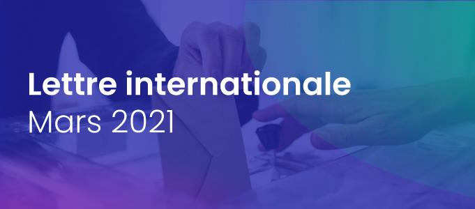 Lettre internationale de la Haute Autorité – mars 2021