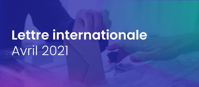 Lettre internationale de la Haute Autorité – avril 2021