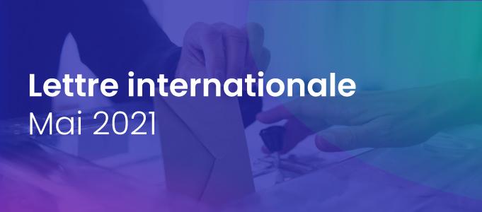 Lettre internationale de la Haute Autorité – mai 2021