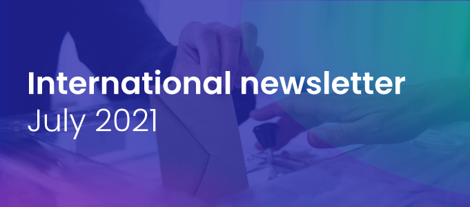 International Newsletter of the HATVP – July 2021