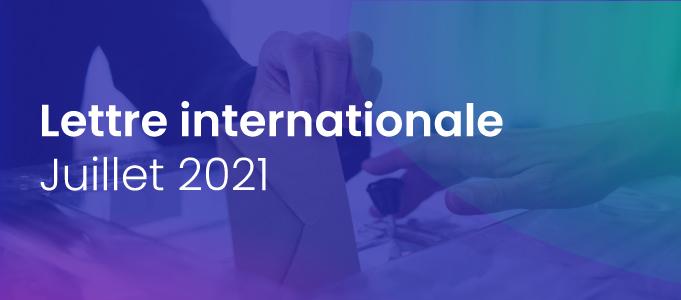 Lettre internationale de la Haute Autorité – juillet 2021